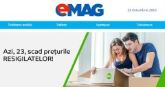 Resigilate eMAG 23 octombrie 2015