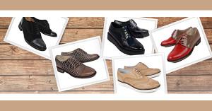 Pantofi dama stil Oxford