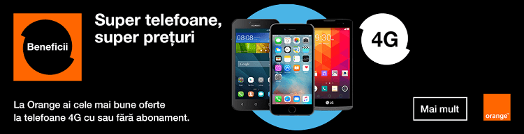 Telefoane 4G magazin online Orange