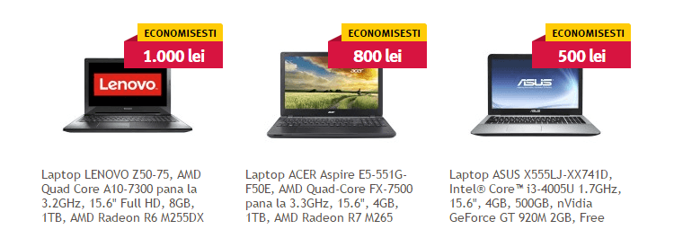 laptopuri altex black friday 2015