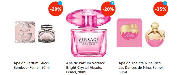 Parfumuri dama oferta eMAG