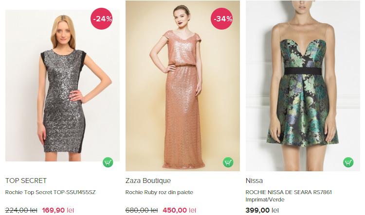 Rochii Revelion FashionUP!