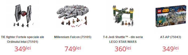 Seturi Lego Star Wars Nichiduta