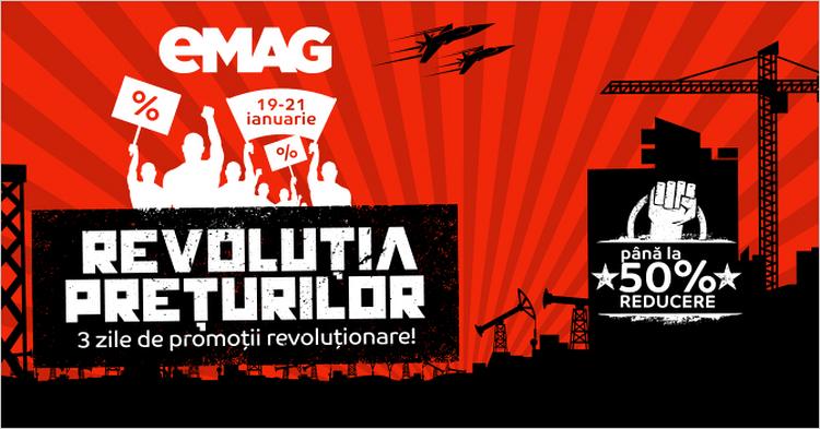 emag revolutia preturilor ianuarie 2016