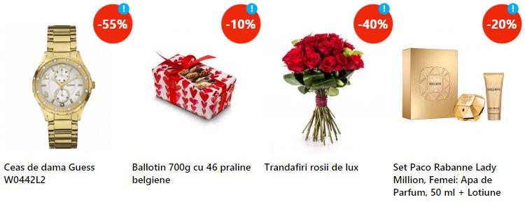 Cadouri Valentine's Day femei eMAG