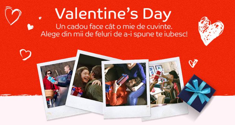 eMAG cadouri Valentine's Day