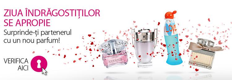 Promotii parfumuri firma Valentine's Day Aoro