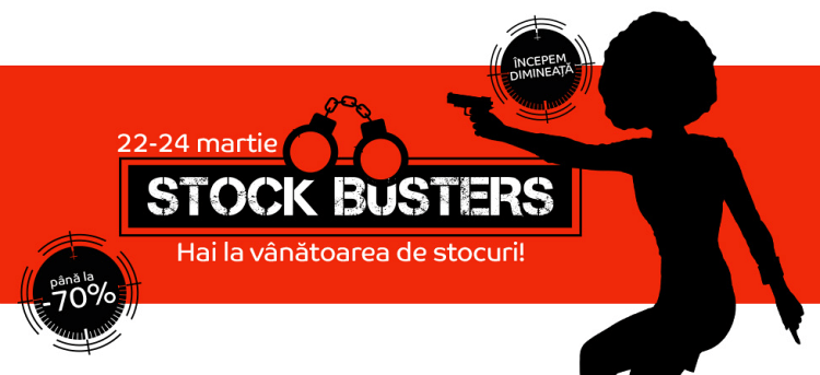 eMAG Stock Busters martie 2016