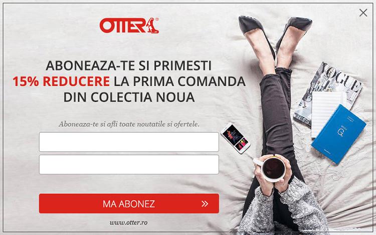 Abonare newsletter Otter