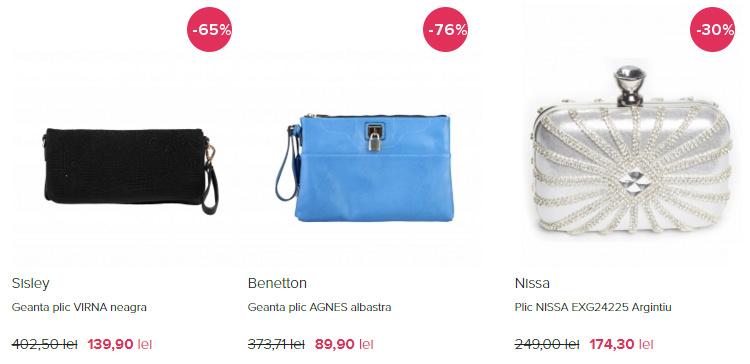 Genti ieftine clutch FashionUP!