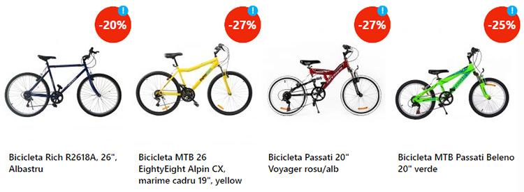 Biciclete adolescenti eMAG