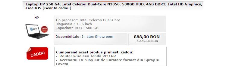 Laptop ieftin HP MarketOnline