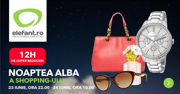 Campanie Noptea Alba Shopping Elefant