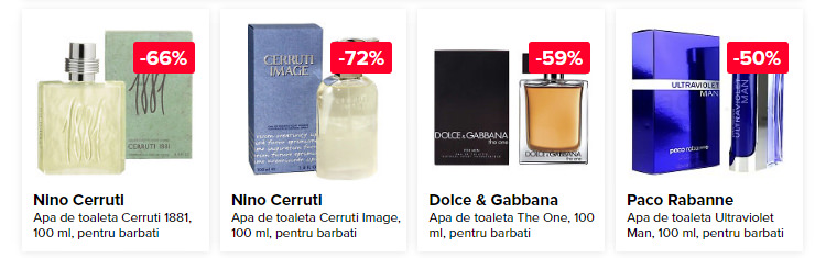 Parfumuri barbatesti reduceri Zilele Elefant