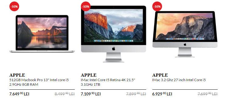 Macbook iMac back to school 2016 la QuickMobile