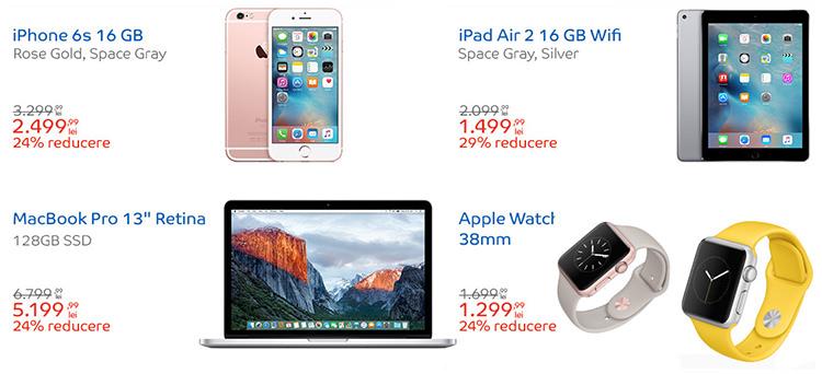 Produse reduceri Apple Shop eMAG
