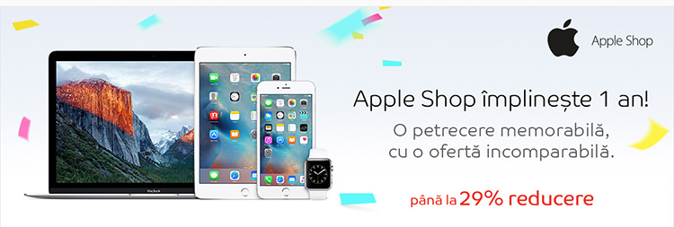 Reduceri Apple Shop eMAG