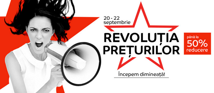 Revolutia Preturilor eMAG 20-22 septembrie 2016