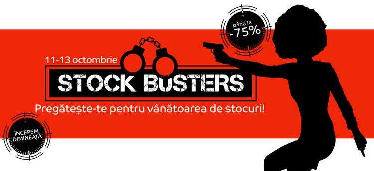 promotii stock busters 2016 emag