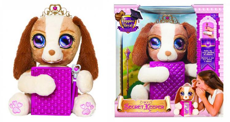 Jucarie plus interactiva Royal Puppy Secret Keeper