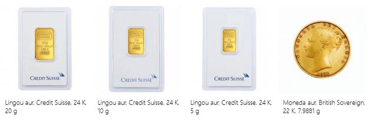 lingouri monede aur emag black friday 2015