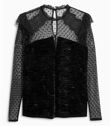 Bluza neagra NEXT FashionDays