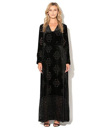 Rochie catifea Benetton FashionDays