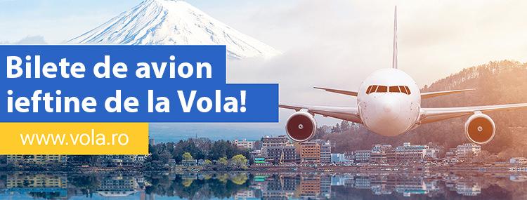 Bilete avion ieftine Vola