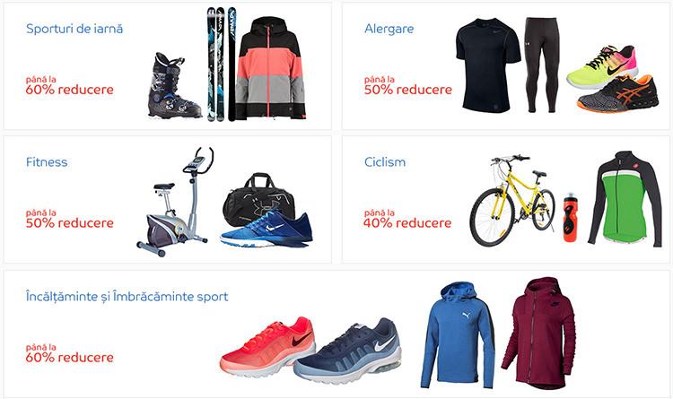 Categorii sport eMAG