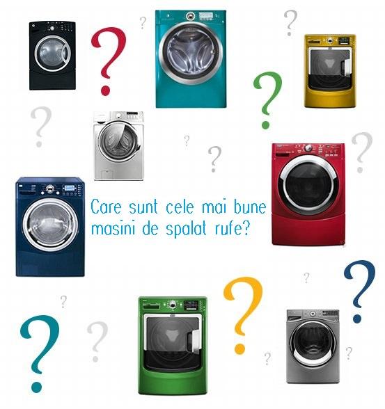 Care sunt cele mai bune masini de spalat rufe?