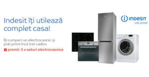 Promotie tombola eMAG premii Indesit