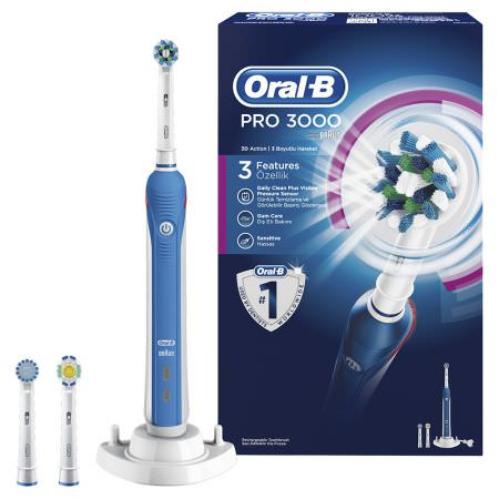 Periuta dinti electrica Oral-B PRO 3000 Cross Action eMAG