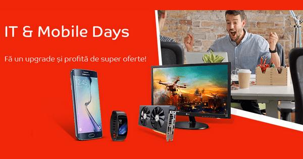 Oferte IT & Mobile Days eMAG februarie 2017