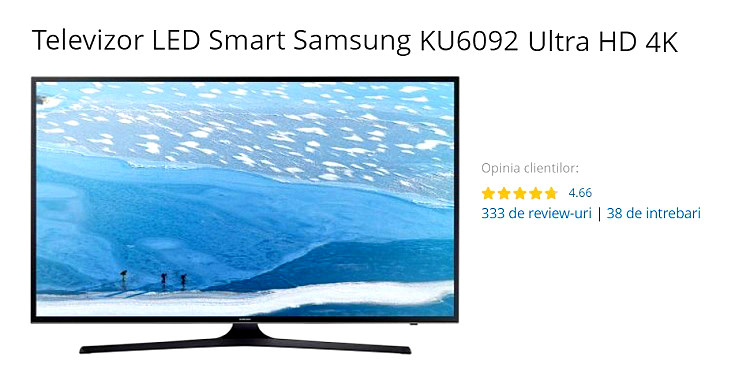 Samsung KU6092