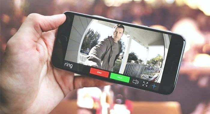 Sonerie Smart Ring cu camera video