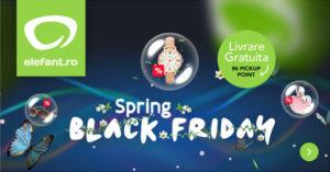 Campanie Spring Black Friday 2017 la Elefant