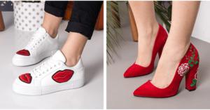 Pantofi brodati online