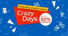Crazy Days din 1 - 7 iunie 2017 la eMAG