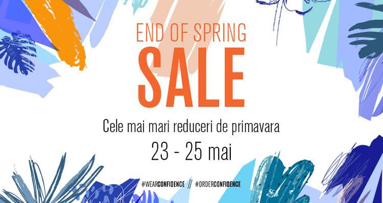 End of Spring Sale la FashionDays