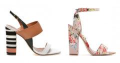 Modele sandale cu toc gros online