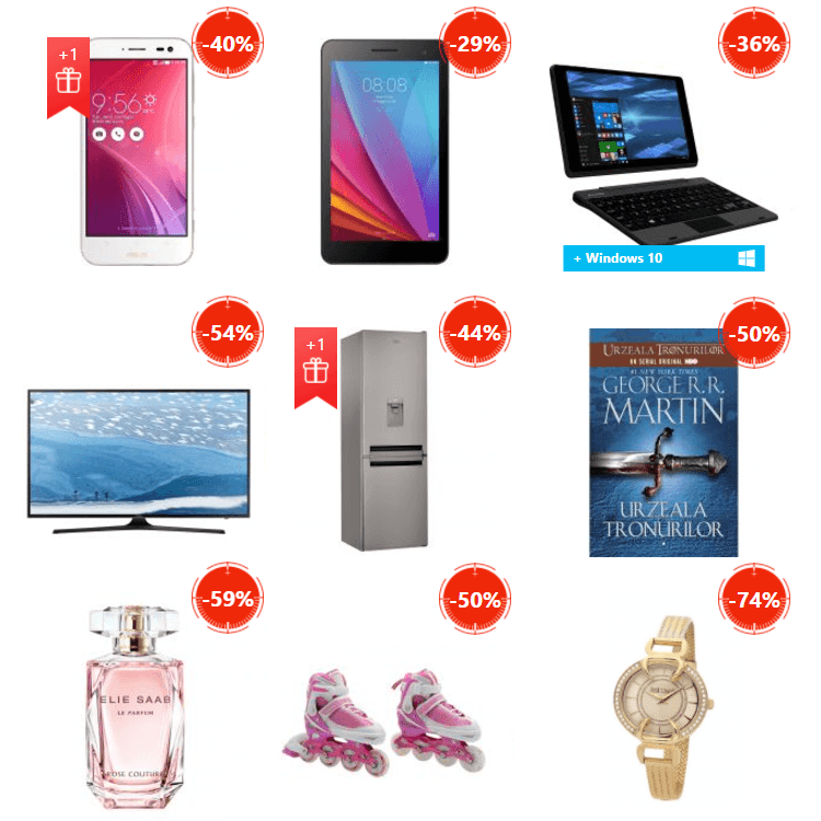 Oferte Stock Busters din 23 - 25 mai 2017 eMAG