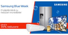 Campanie Samsung Blue Week la eMAG
