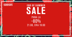 Campanie End of Summer Sale la FashionDays