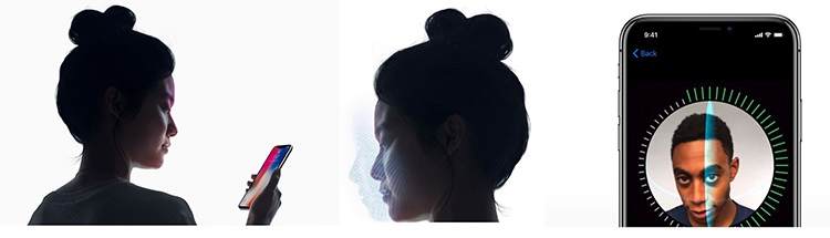 Functie Face ID iPhone X