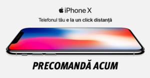 iPhone X precomanda