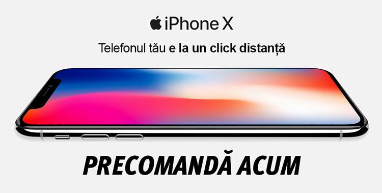 Precomanda iPhone X
