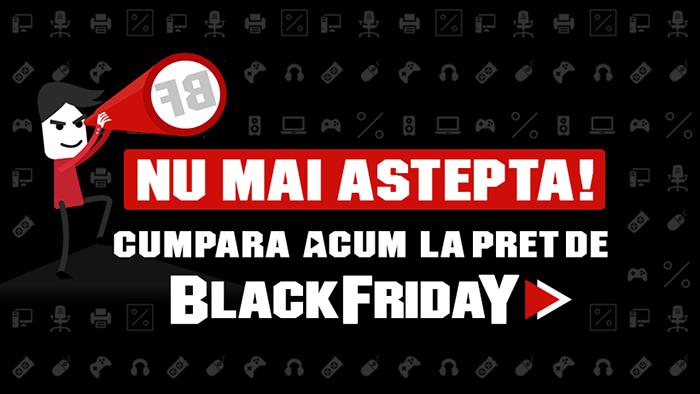 Black Friday 2017 la PC Garage