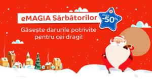 Campanie eMAGIA Sarbatorilor 2017