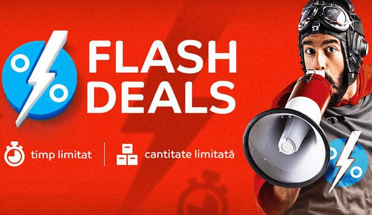 Flash Sales la eMAG