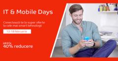Campanie IT & Mobile Days din 12 - 18 februarie la eMAG